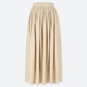Uniqlo Gathered Skirt with Pockets